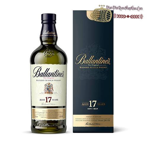 Rượu Ballantine's 17 Năm - phanphoiruounhapkhau.com