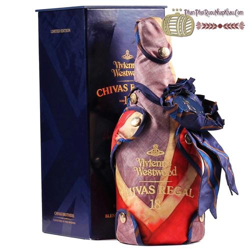 Rượu Chivas 18 năm Vivienne Westwood Edition