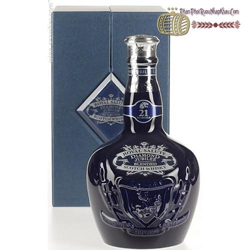 Rượu Chivas 21 Diamond Jubilee - phanphoiruounhapkhau.com