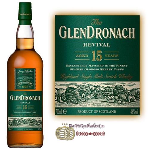 Rượu Glendronach 15 Năm