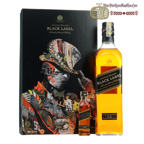 Rượu Johnnie Walker Black Label hộp quà 2018