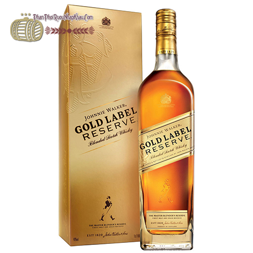 Rượu Johnnie Walker Gold Laber