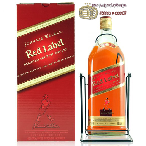 Rượu Johnnie Walker Red 3 Lít
