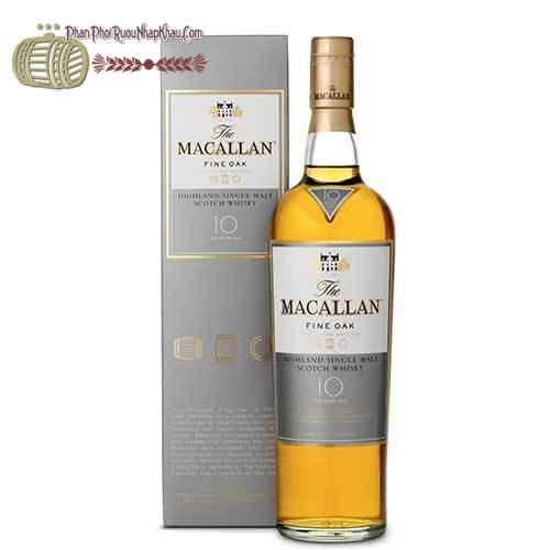 Rượu Macallan 10 năm