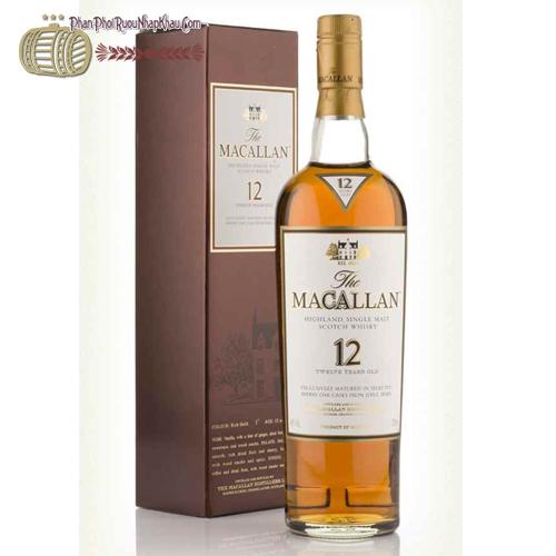 Rượu Macallan 12 năm