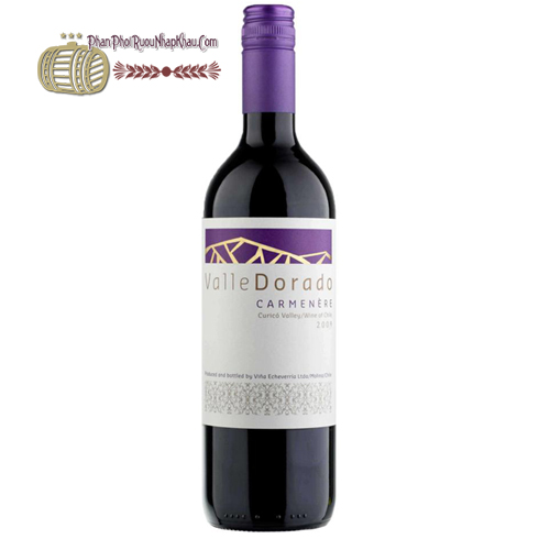 Rượu Vang Chile Valle Dorado Carmenere Tím