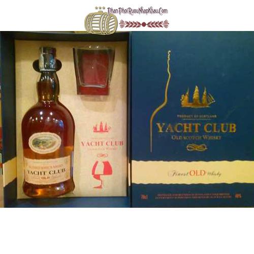 Rượu Yacht Club hộp quà