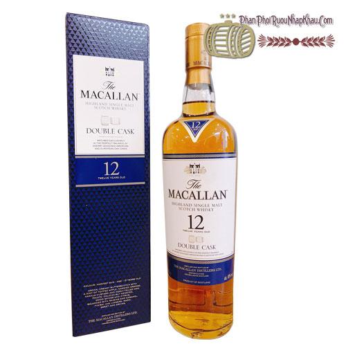 Rượu macallan 12 năm xanh 1 lít