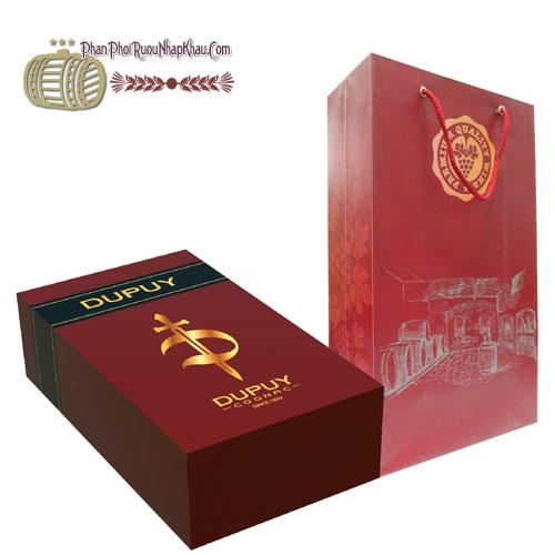 Hộp quà tặng Dupuy Cognac VSOP [HT]