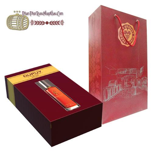 Hộp quà tặng Dupuy cognac X.O [HT]