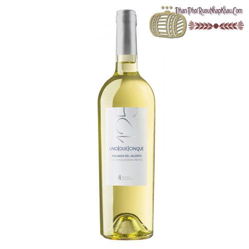 Rượu vang 125 Malvasia Del Salento 2014 - phanphoiruounhapkhau.com