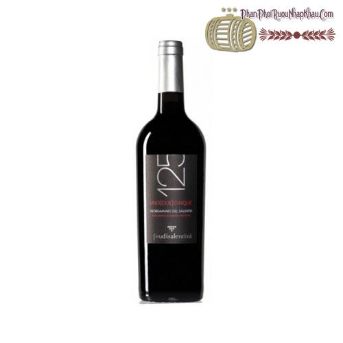 Rượu vang 125 Negroamaro Del Salento 2013 - phanphoiruounhapkhau.com