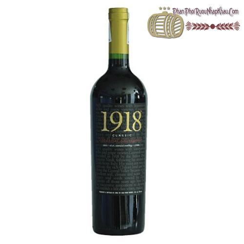 Rượu vang 1918 Classic Cabernet Sauvignon - phanphoiruounhapkhau.com