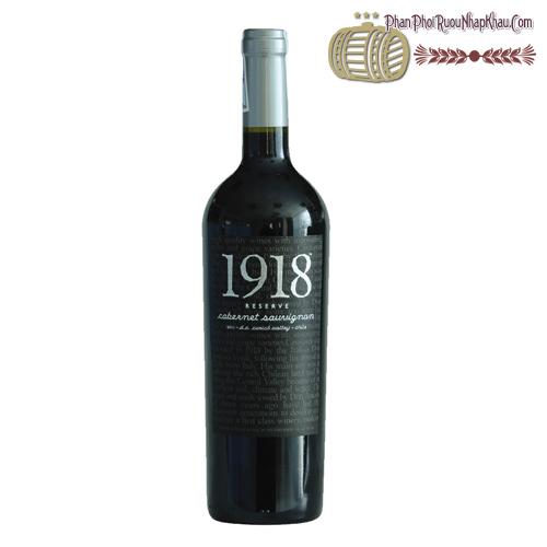 Rượu vang 1918 Reserve Cabernet Sauvignon
