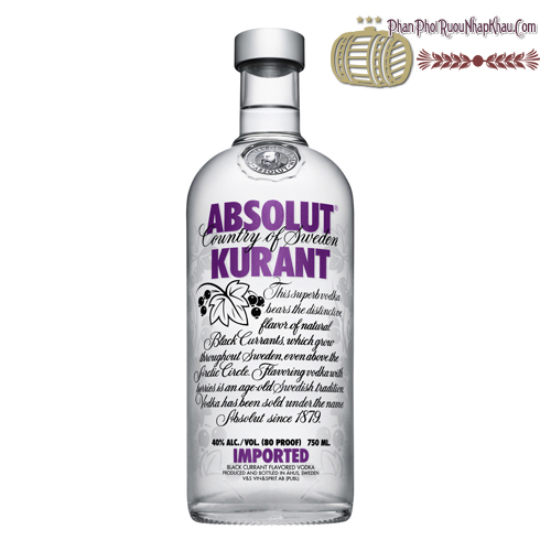 Rượu Absolut Kuarant 750ml