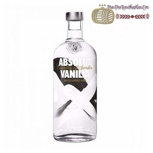 Rượu Absolut Vanilia 750ml - phanphoiruounhapkhau.com
