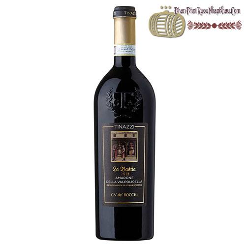 Rượu vang Amarone La Bastia 2011 Della Valpolicella DOP - phanphoiruounhapkhau.com