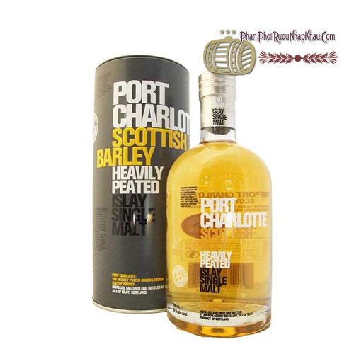 Rượu Bruichladdich Port Charlotte Scottisch Barley [VA] - phanphoiruounhapkhau.com