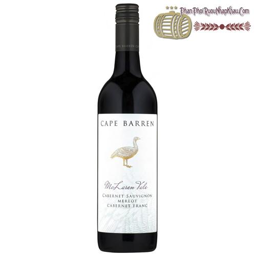 Rượu vang Cape Barren McLaren Vale Cabernet Sauvignon Merlot - phanphoiruounhapkhau.com
