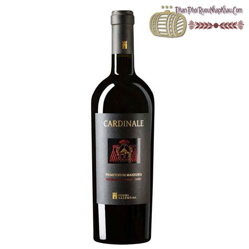 Rượu vang Cardinale Primitivo di Manduria 2013 - phanphoiruounhapkhau.com
