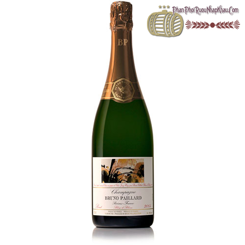 "Rượu vang Champagne Bruno Paillard Brut ""Blanc de Blanc"" - phanphoiruounhapkhau.com"