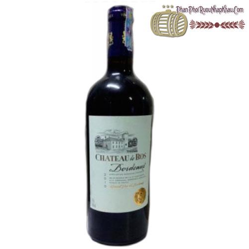 Rượu vang Château Le Bos Bordeaux AOC 2010 - phanphoiruounhapkhau.com