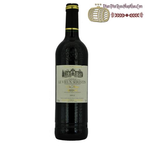 Rượu vang Château Le Vieux Serestin Médoc Cru Artisan 2012 - phanphoiruounhapkhau.com