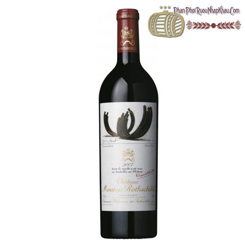 Rượu vang Château Mouton Rothschild Pauillac 2007 - phanphoiruounhapkhau.com