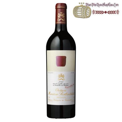 Rượu vang Château Mouton Rothschild Pauillac 2013 - phanphoiruounhapkhau.com