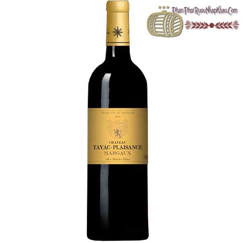 Rượu vang Château Tayac-Plaisance Margaux Cru Bourgeois 2013 - phanphoiruounhapkhau.com