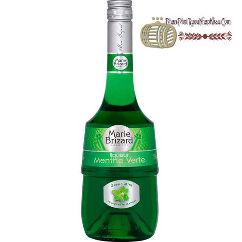 Rượu Crème de Menthe Verte Green Mint [HT]