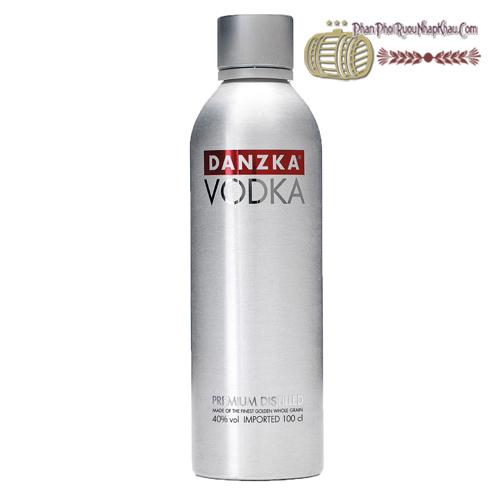 Rượu Danzka Vodka - phanphoiruounhapkhau.com