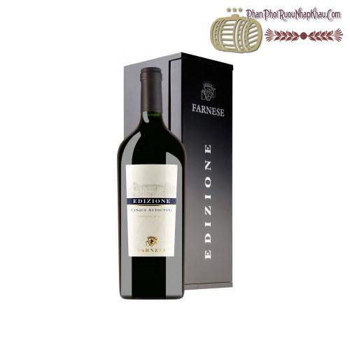 Rượu vang Edizione Cinque Autoctoni 2010 - phanphoiruounhapkhau.com