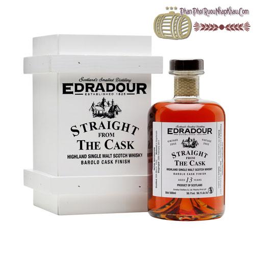 Rượu Whisky Edradour SFTC Barolo 2002