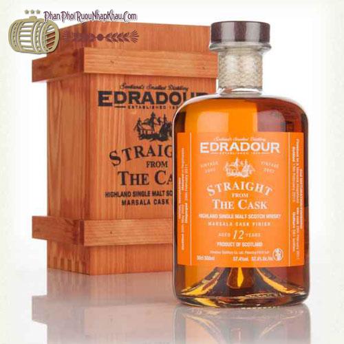 Rượu Whisky Edradour SFTC Marsala 2002 - phanphoiruounhapkhau.com
