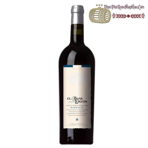 Rượu vang El Albar Lurton Barricas - phanphoiruounhapkhau.com