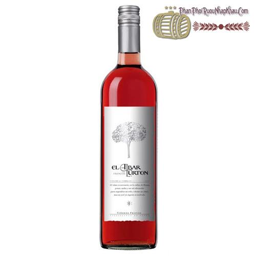 Rượu vang El Albar Lurton Tempranillo Vino Rosado - phanphoiruounhapkhau.com