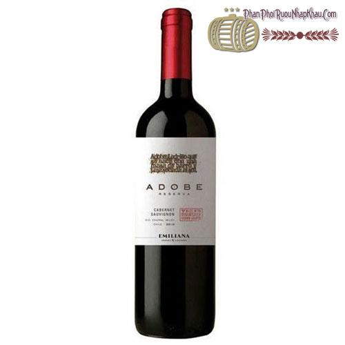 Rượu vang Emiliana Adobe Reserva Cabernet Sauvignon 2011 - phanphoiruounhapkhau.com