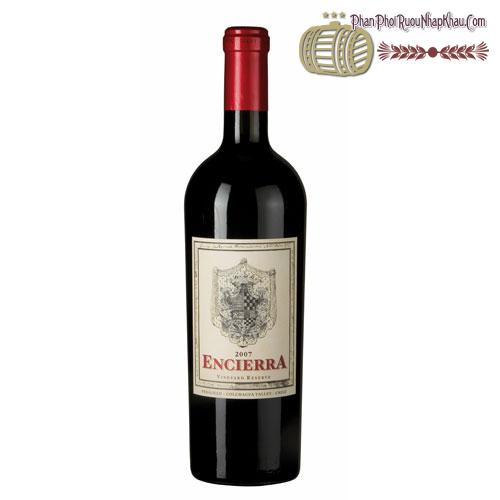 Rượu vang Encierra Vineyard Reserve - phanphoiruounhapkhau.com