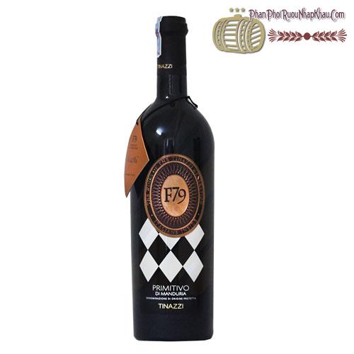 Rượu vang F79 Primitivo Di Manduria 2010 - phanphoiruounhapkhau.com