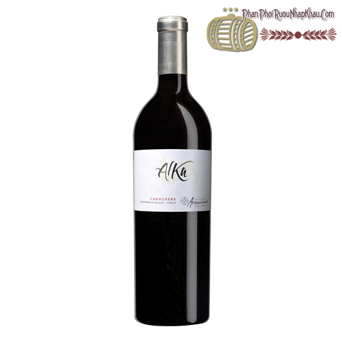 Rượu vang Alka Carmenere Organic Wine - phanphoiruounhapkhau.com