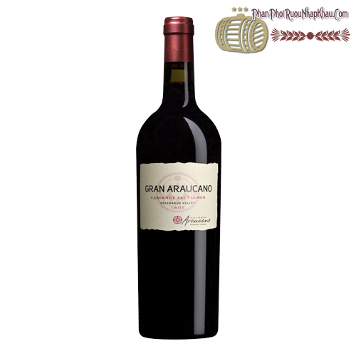 Rượu vang Araucano Gran Araucano Cabernet Sauvignon - phanphoiruounhapkhau.com