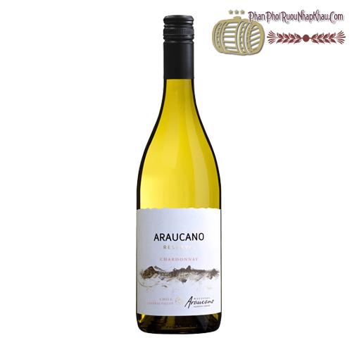 Rượu vang Hacienda Araucano Reserva Chardonnay - phanphoiruounhapkhau.com