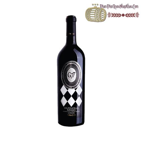 Rượu vang G77 Valpolicella Ripasso Superiore 2011 - phanphoiruounhapkhau.com