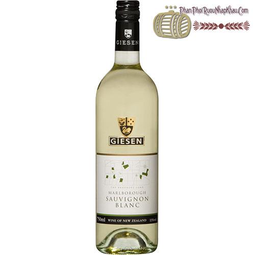 Rượu vang Giesen Sauvignon Blanc 2013 - phanphoiruounhapkhau.com