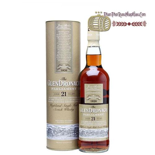 Rượu Glendronach Single Malt 21 năm [VA] - phanphoiruounhapkhau.com
