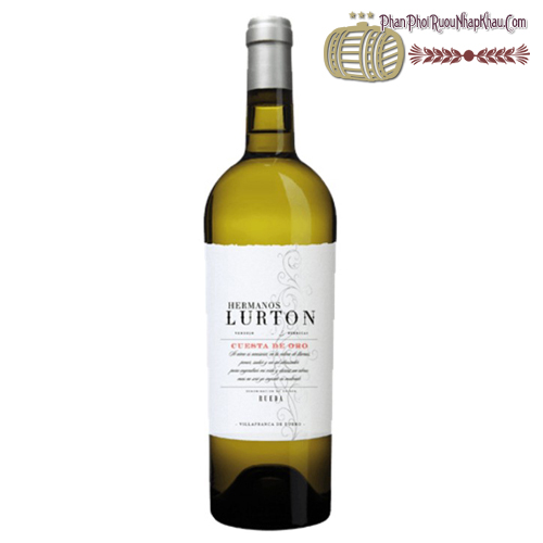 Rượu vang Hermanos Lurton Cuesta De Oro Rueda Verdejo - phanphoiruounhapkhau.com