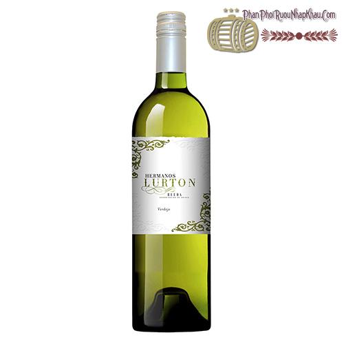 Rượu vang Hermanos Lurton Rueda Verdejo - phanphoiruounhapkhau.com