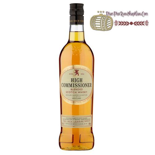 Rượu High Commissioner Whisky 1L [HT] - phanphoiruounhapkhau.com