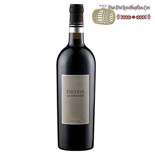 Rượu vang La Grange Castalides Edition 2012